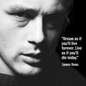 Movie Actor quotes - James Dean -- film actor quote #jamesdean