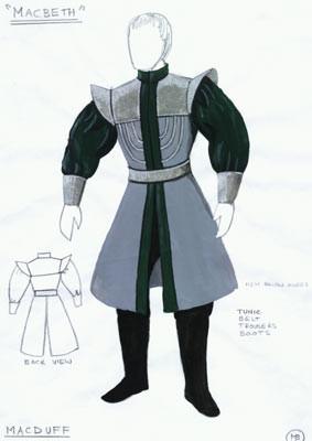 Macbeth Costumes Macduff
