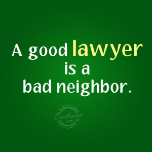 Lawyer Quotes and Sayings