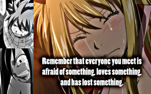 Fairy Tail FT Quotes