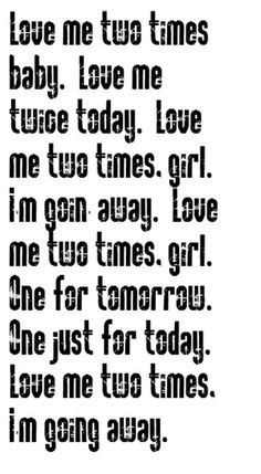 the doors love me two times song lyrics music lyrics songs song quotes ...