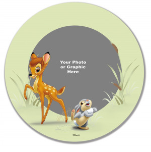 Bambi and Thumper Plate (Personalized) by Disney