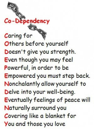 codependency quotes relationships
