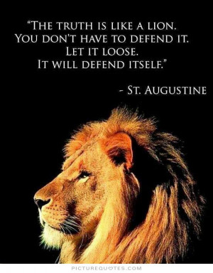 Lion Courage Quotes