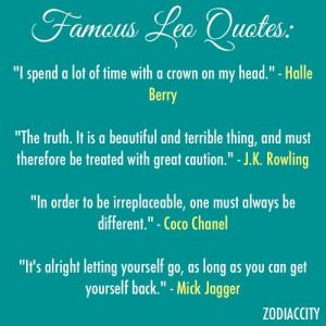Leo Quotes Famous leo quotes