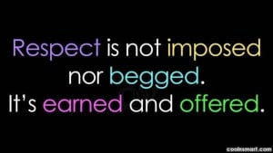 Respect Quotes and Sayings