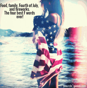Food, Family, Fourth of July, an...
