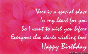 Happy Birthday in Advance: Early Birthday Wishes