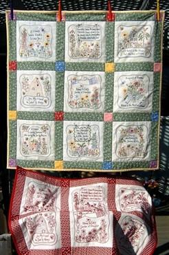 friendship s garden quilt celebrate friends with a charming quilt ...