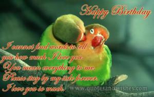 birthday wishes boyfriend husband Cute and Romantic Happy Birthday ...