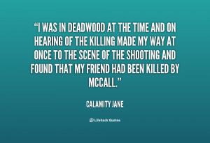 Calamity Jane Quotes Deadwood
