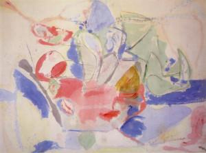 Helen Frankenthaler - Mountains and Sea, 1952 - © 2008 Helen ...