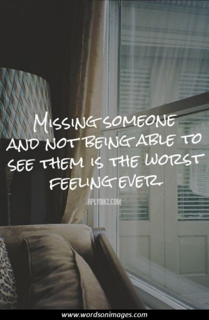 inspirational quotes about missing someone