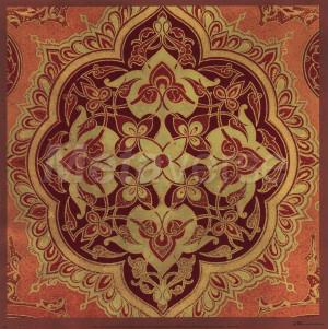 Persian Tiles I by Paula Scaletta art print