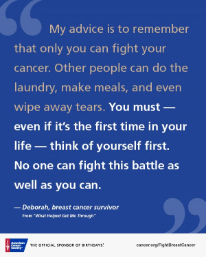 Comforting Words For Cancer Diagnosis