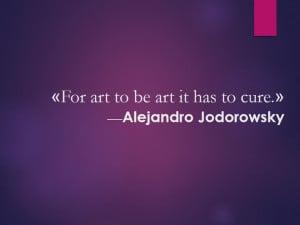 Alejandro Jodorowsky. Found in Facebook.