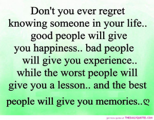 ... quotes about life no regret quotes no regrets regret comes in