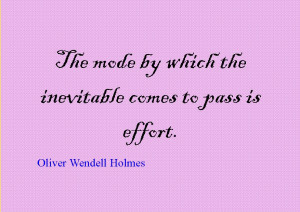 Quote of the Day : Oliver Wendell Holmes