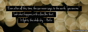 Hafiz Quotes Cover Comments