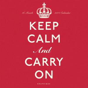 Home > Obsolete >Keep Calm 2014 Wall Calendar