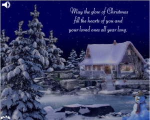 Glow Hearts Merry Christmas Quotes