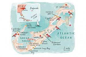 elbow beach bermuda map