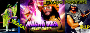 Macho Man Randy Savage Forever Profile Facebook Covers