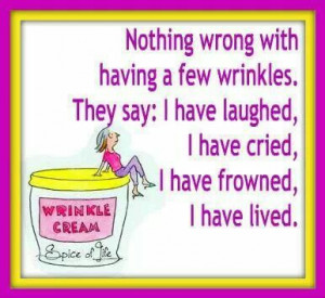 Growing old gracefully.....