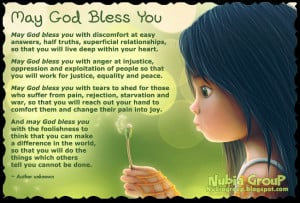 God Bless You Quotes Friends ~ Nubia_group Inspiration *: May God ...