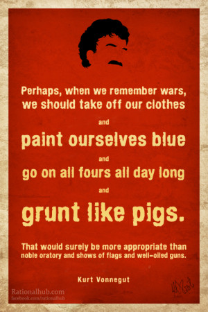 Kurt Vonnegut Quotes Cats Cradle Kurt vonnegut on war.. by