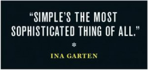 ina garten quote illustration image
