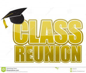 Class Reunion Graduation Cap Isolated White Background