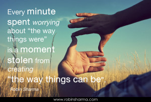 Every minute spent worrying about