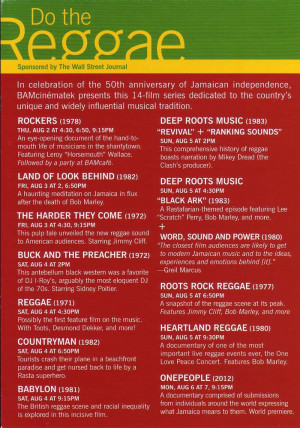 ... Jamaica's music and the 50th anniversary of the nation's