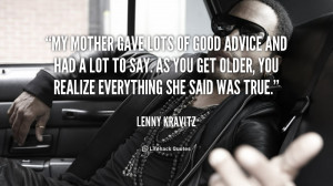 Lenny Kravitz Quotes