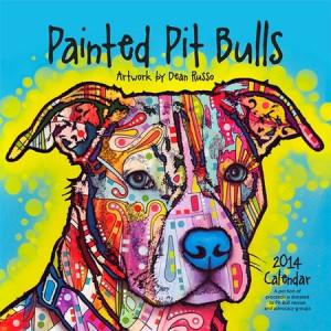 2014 Dean Russo Pit Bull Art Calendar
