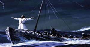 Jesus Calms The Storm First