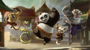功夫熊猫2电影桌面壁纸
