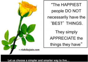 Happiness Quote ~ A beautiful thought for the day