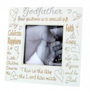 Godfather Photo Frame - Ivory