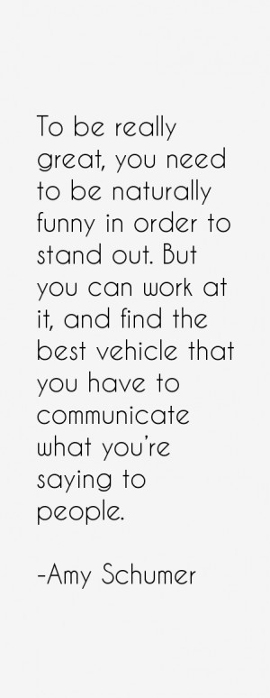 Amy Schumer Quotes & Sayings