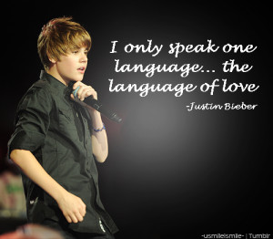 Quotes From Justin Bieber