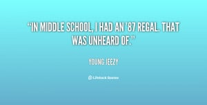 Middle School Quotes