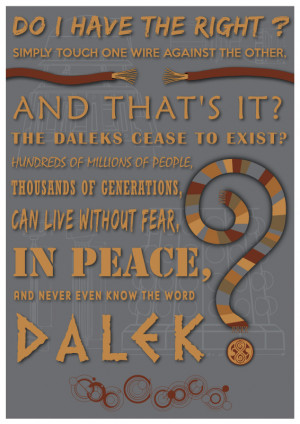 Doctor Who 50th Anniversary Quotes
