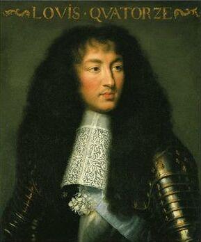 Louis le Quatorzième, Roi de France