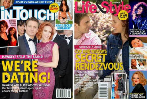 ... Gossip, Fake Tabloids & Newspapers Featuring Marvel's Avengers