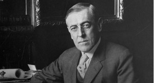 Woodrow Wilson received the award for his efforts to end WWI. | AP ...