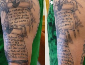 More Scripture Sleeve