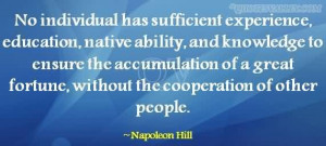 No Individual Has Sufficient Experience