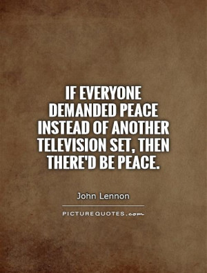 John Lennon Quotes Peace Quotes